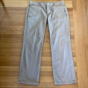 Bonobos Khaki Colored Washed Chinos
